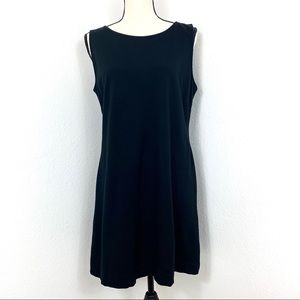 Taylor Sleeveless Mini Dress Black Size 14